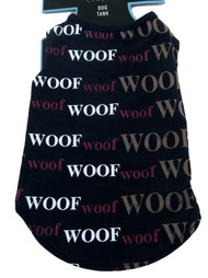 Boots & Barkley Woof Dog Tank Top T-Shirt