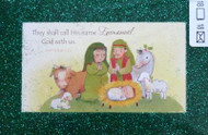 18 Emmanuel God with us Scripture Christmas Cards