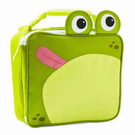 Arctic Zone Green Frog Soft Lunch Box Insulated Lunch Bag Lunchbox