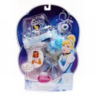 Disney Princess Pretend Play Cinderella Royal Wedding Bride Crown Veil Bouquet
