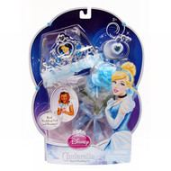 Disney Princess Pretend Play Cinderella Royal Wedding Bride Crown Veil Bouquet