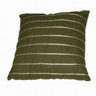 Allen & Roth Green Ribbon Stripe Throw Pillow Accent Cushion