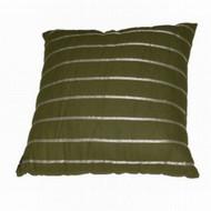 Allen & Roth Green Ribbon Stripe Throw Pillow Accent Cushion