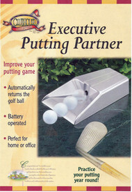 Clubhouse Collection Executive Golf Putting Partner Trainer With Ball Return