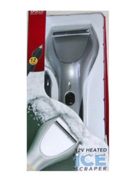 Apollo 12 Volt Heated Ice Scraper Car Auto Truck Boat