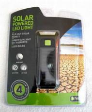 iCharge Solar Powered LED Flashlight with Flip Out Solar Panels