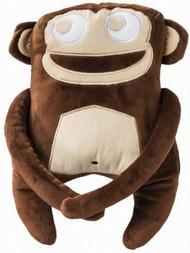 Shaped Monkey Throw Pillow Accent Toss Cushion Plush Ape Pal