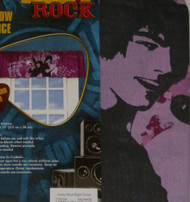 Disney Camp Rock Window Valance Jonas Brothers Curtain Topper