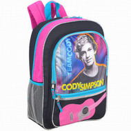 "Cody Simpson Guitar 16"" School Backpack, Kids Travel Bag"