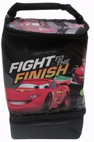 Disney Cars Fight To The Finish 2 Compartment Soft Lunch Box Insulated Lunchbox