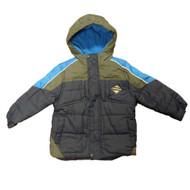 Performance Gear Toddler & Little Boys Navy Blue Puffer Bubble Jacket Coat