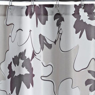 Apt 9 Brown Floral Fabric Shower Curtain Pretty Flower Bath