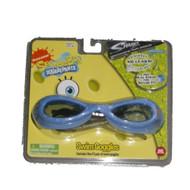 Nickelodeon Spongebob Squarepants Swim Goggles Dual Strap Sharkz Swimming Goggle