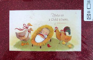 Box 18 Baby Jesus Bible veres Christmas Cards