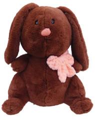 Animal Adventure Chubby Brown Bunny Plush Lop Ear Rabbit Stuffed Animal Pal