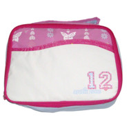 Arctic Zone Heart Butterfly Soft Lunch Box Tote Insulated Snack Bag Lunchbox