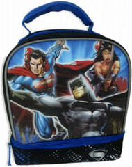 DC Comics Superman, Batman and Wonder Woman Insulated Lunch Bag - Lunchbox
