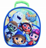 Beat Bugs 9 inch Lunch Bag with Hands Free Clip Insulated Kids 3D Lunch Box