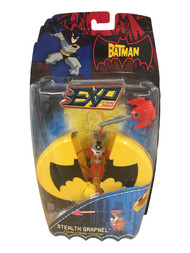 Batman Stealth Grapnel Action Figure Zip Line Playset