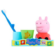 Peppa Pig Kids Travel Toothbrush & Rinse Cup Great Smile Set