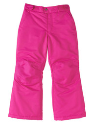 Girls Electric Pink Swiss Tech Snow & Ski Pants