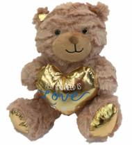 Animal Adventure Sm Plush Teddy Bear Stuffed Animal All You Need Is Love Message