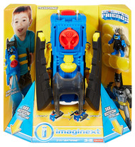 Fisher-Price Imaginext DC Super Friends 2 In 1 Batwing & Batman Figure