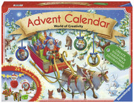 Advent calendar Create Your Own Christmas Decorations With 24 Doors & Activities