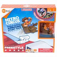 HEXBUG Nitro Circus Freestyle Ramp Play Set With Cowboy Stunt Man Figure