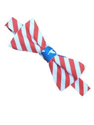 Men's Red White and Blue Stars and Stripes, Duck Dynasty Bow-tie Necktie