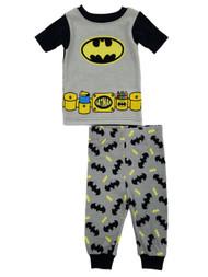 Batman DC Comics Infant Boys 2-Piece Knit Sleepwear Pajama Set