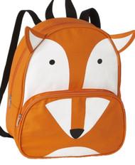 "Basic Sly Fox 13"" Backpack Lightweight Canvas Orange Critter Preschool Pack"