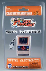 World's Coolest Mattel Electronic Games - Mini Basketball Handheld Keychain Game