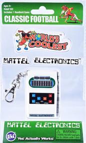 World's Coolest Mattel Electronic Games - Mini Football Handheld Keychain Game