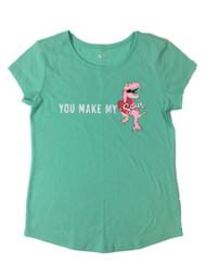 Jurassic Park Toddler Girls Pink Glitter Dinosaur T-Shirt T-Rex Tee Shirt