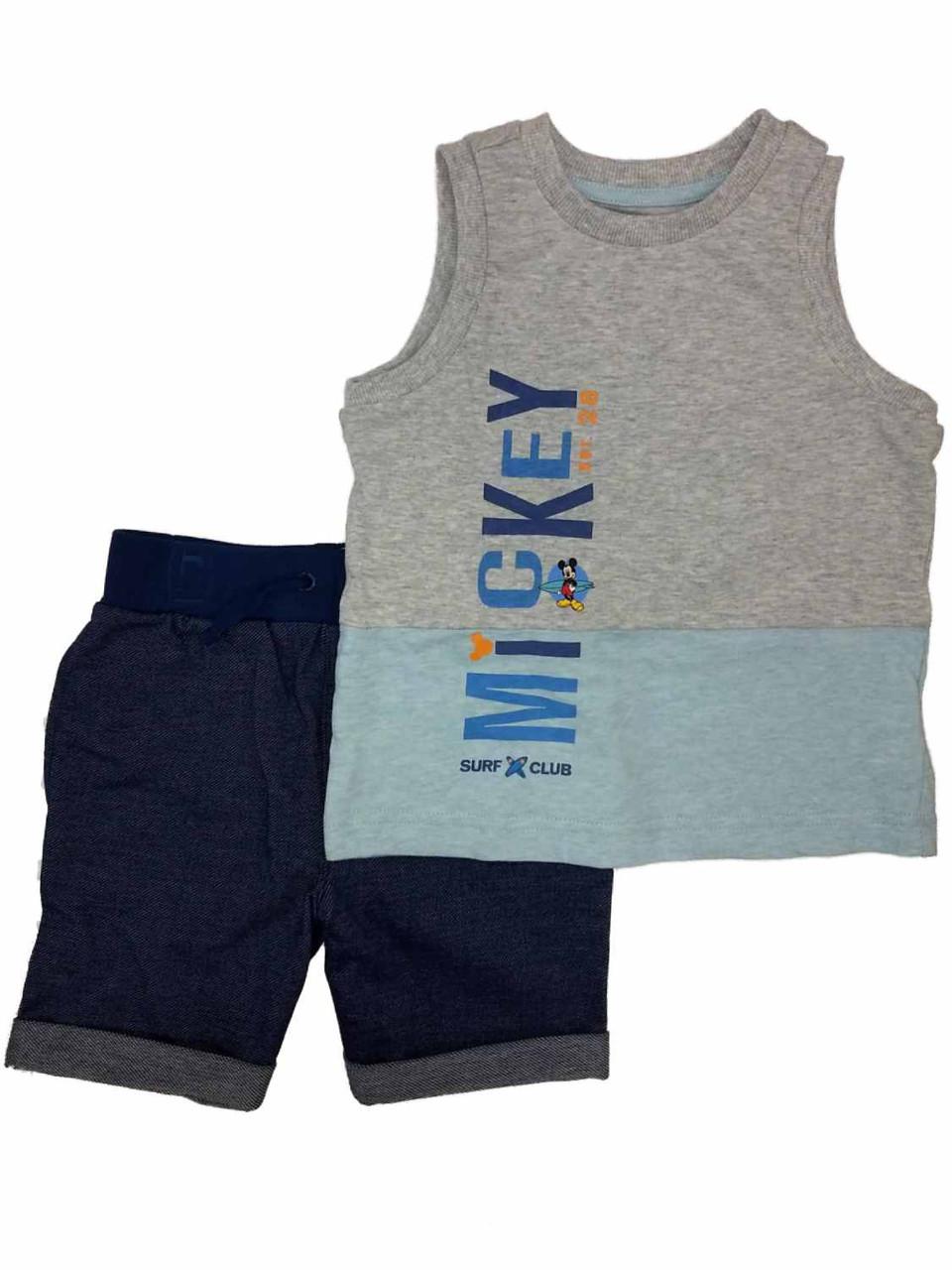 Disney Cars Infant /& Toddler Boys Lightning McQueen Tank Top /& Shorts Set