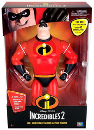 Pixar Collection Mr. Incredible Interactive Action Figure With 40+ Sayings