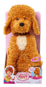 "Fancy Nancy 11"" Barking Frenchy Plush Puppy Dog Stuffed Animal Pal"