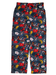 Marvel Mens Tropical Vacation Deadpool Sleep Pants Pajama Bottoms