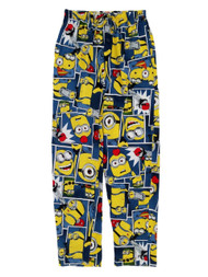 Despicable Me Minions Mens Lounge Pants Sleep Pants Pajama Bottoms