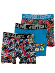 Boys 3pc Justice League Boxer Briefs Superman & Batman Boxer Shorts Set