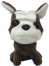 Spark Small Plush Bulldog Puppy Dog Stuffed Animal Pal With Sound