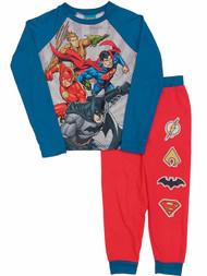 DC Comics Boys Justice League Pajamas Aquaman Flash Batman Sleep Set