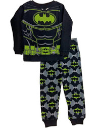 DC Comics Boys Batman Baselayer Set Glow Dark Thermal Underwear Long Johns
