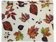 Autumn Gatherings Harvest Leaves Print Placemat Set Of 4, Colorful Placemats