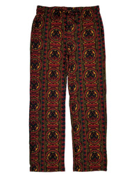 Black Panther Marvel Mens Tribal Flannel Sleep Lounge Pant Pajama Bottoms