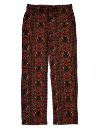 Black Panther Marvel Mens Tribal Flannel Sleep Lounge Pant Pajama Bottoms