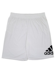 Adidas Mens Big & Tall White Crazylight Athletic Basketball Workout Shorts 3XLT