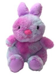 "Animal Adventure Blue & Pink Tie Dye Bunny Rabbit Stuffed Animal 11"" Plush Pal"
