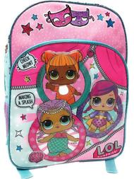 "LOL Surprise Theater Club 16"" School Backpack - Girls Book Bag"
